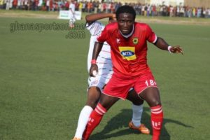 Big boost for Kotoko ahead of Medeama clash with the return of midfielder Kwadwo Poku from injury
