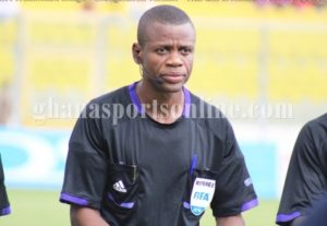 I have never received bribe from any club in GPL- Renowned referee Agbovi