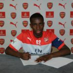 Ghanaian starlet Eddie Nketiah signs professional contract with Arsenal