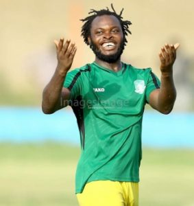 Yahaya Mohammed sure of goal king crown after another stellar performance