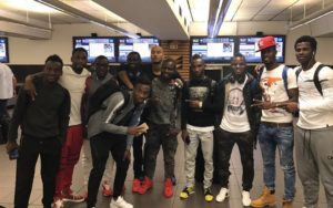 Black Stars players depart for club duty after South Africa friendly