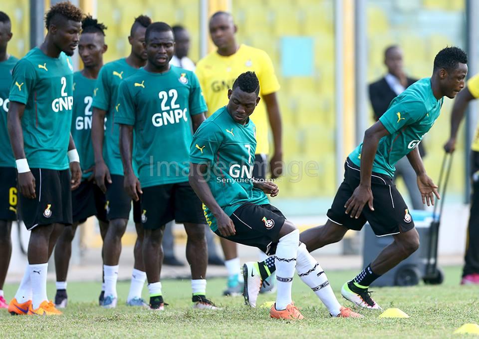 22 players report for Black Stars training ahead of Uganda Clash
