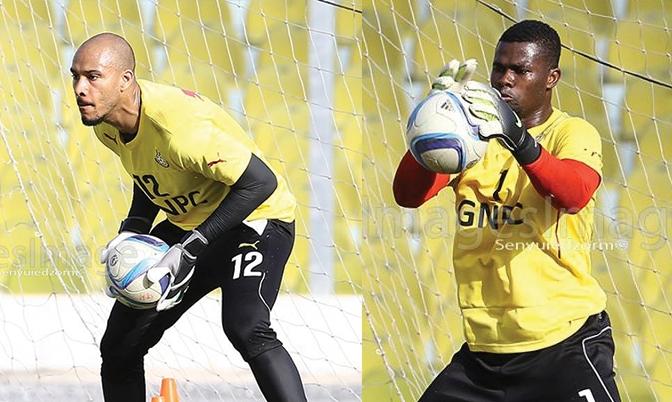 Adam Kwarasey and Razak Brimah involved in tussle over Black Stars number 1 shirt