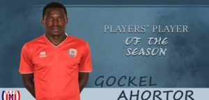 Gockel Ahortor voted Inter Allies Players' Player of the Season