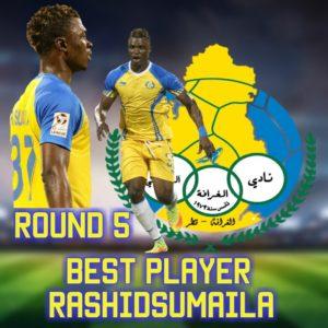 Rashid Sumaila named man of the match in Al-Gharafa's draw with Al Sadd