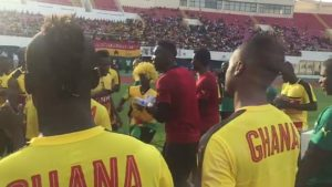 "Video: Black Stars in ""Jama"" mood ahead of Uganda showdown"