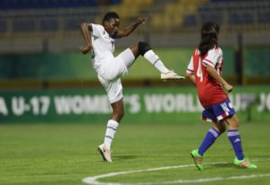 Sandra Owusu Ansah fires Ghana into FIFA U-17 Women's world cup next stage