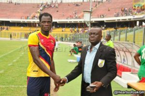 Hearts of Oak defender Inusah Musah earns call up to train with the Black Stars