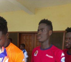 Isaac Quansah waiting on Asante Kotoko
