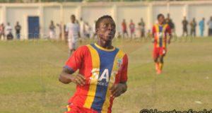 Aduana Stars near signing of Hearts' striker Eric Kumi