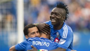 Blackburn Rovers keen on Montreal Impact striker Dominic Oduro