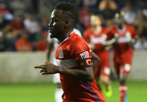 David Accam not keen on Chicago Fire contract renewal