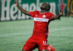 VIDEO: Watch David Accam's awesome finish for Chicago Fire