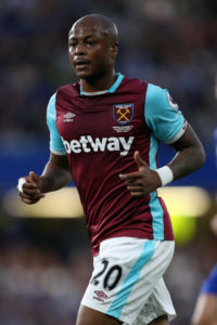 Andre Ayew likely to return to action in West Ham EFL Cup game with Chelsea