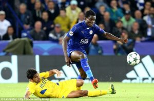Daniel Amartey plays cameo role for Leicester in 3-1 win over Palace