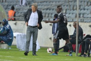 I have no problems with Pirates coach Ertugal - Edwin Gyimah