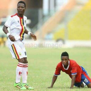 Samudeen named worst midfielder of the season