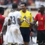 BIZARRE: Sudanese ref shows Ugandan player two yellow cards in Ghana-Uganda World Cup qualifier