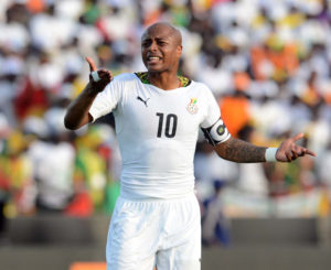 Andre Ayew to captain Ghana for crucial Egypt clash