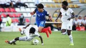 PICTURES: Ghana on the verge of elimination after 2-2 draw with France