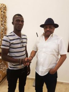 Official : Bechem United striker Abednego Tetteh signs for Al Hilal Omdurman