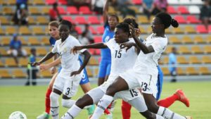 Black Princesses draw 2-2 with France in second group game