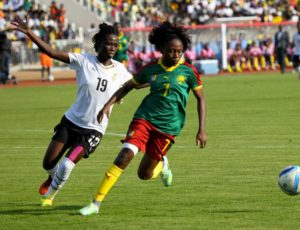 Watch photos of how the Black failed to beat Cameroon in AWC semis