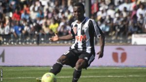 Solomon Asante stars in TP Mazembe's 2-0 win over JS Groupe Bazano