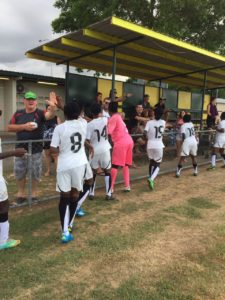 Photos: Black Princesses hammer Comets 8-0 in Australia