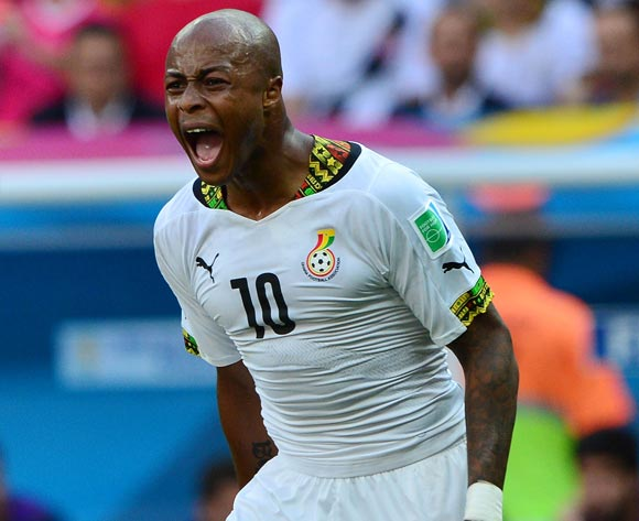 Andre Ayew returns to Stars for 2018 FIFA World Cup qualifier against Egypt