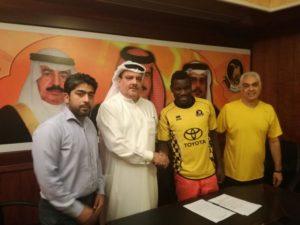 Hearts reject Foovi Aguidi signs for Bahraini club Al Ahli Manama