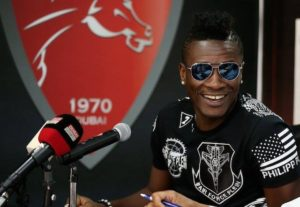 Asamoah Gyan not interested in owning Liberty