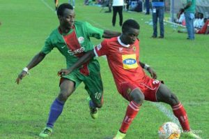Aduana Stars swoop for Techiman City's Baba Mahama ater Yahaya Mohammed sale