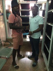 Hearts fan donates Infinix mobile handset to new signing Malik Akowuah