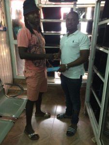 Hearts fan donates Infinix mobile handset to new signing Malik Akowuah