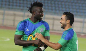 Nana Poku scores twice to send Maqassa top of the Egyptian league