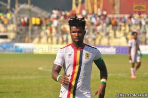 Robin Gnagne signs a new one-year contract at Hearts