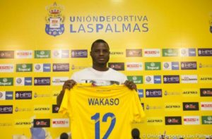 Las Palmas plan shock swoop for former loan star Mubarak Wakaso