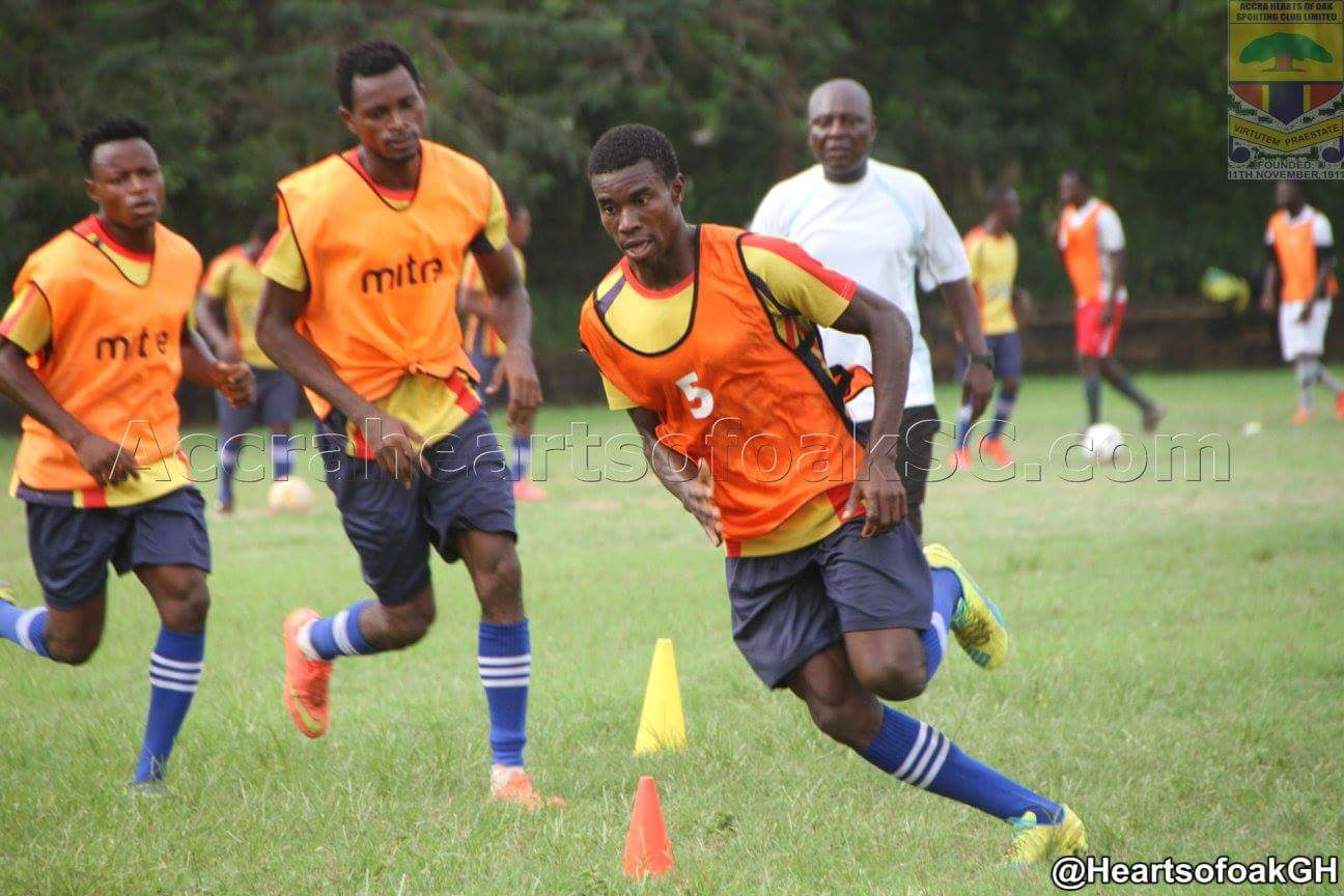 PICTURES: Hearts of Oak intensifies training ahead of new season