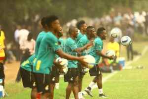 Black Stars open training in Accra ahead of Afcon 2017