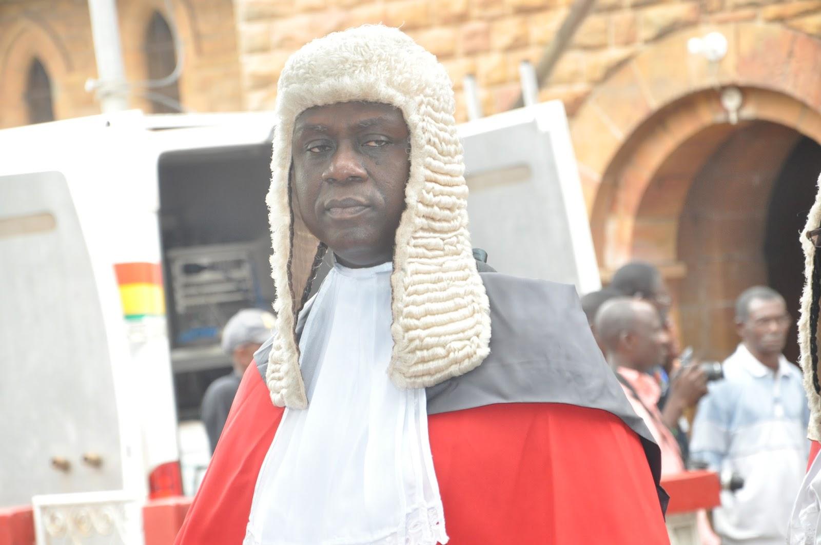 Justice Anin Yeboah to grace PLB Awards Friday