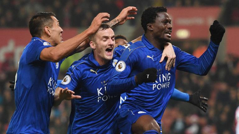 Christian Atsu credits Leicester goalie Schmeichel for inspiring Stoke comeback