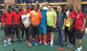 VIDEO: Black Stars take to Gym as part of preparations for AFCON 2017