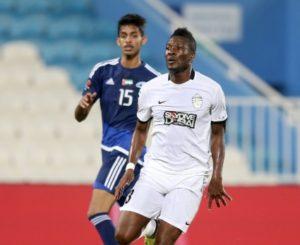 Asamoah Gyan returns to Al Ahli starting XI