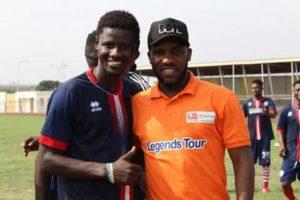 Ropapa Mensah recounts inspirational Jay Jay Okocha visit