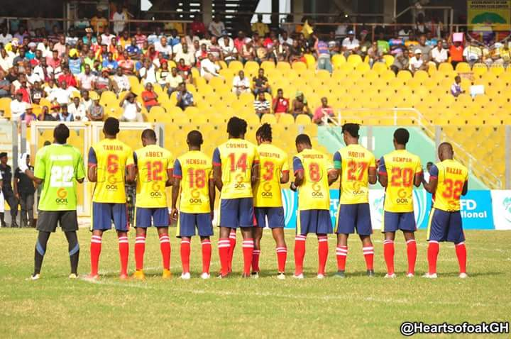 Accra Heart of Oak line up friendly to unveil new players on Sunday