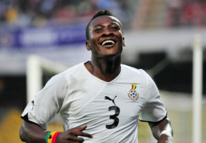 VIDEO: Watch Asamoah Gyan's goal in Friendly against  Uzbek giants Bunyokdor