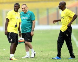 Video: Ghana coach Avram Grant shows skills in AFCON 2017 training in the UAE
