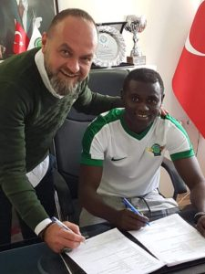 Enoch Adu Kofi joins Turkish Super Lig side Akhisar Belediyespor