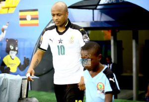 AFCON 2017: Andre Ayew returns to training ahead of Mali clash